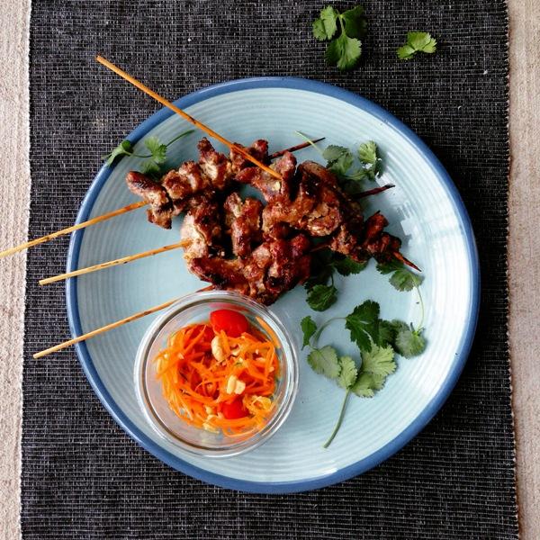Thai Grilled Pork   Mu Ping   หมูปิ้ง