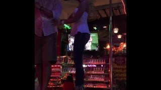 American Utah Slut Dancing On A Pole In Phuket