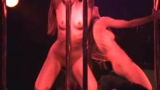 Gogo Girls Dancing And Stripping In A Gogo Bar