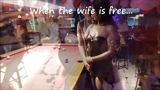 Letting My Ex Hooker Wife Be A Bargirl For a Day (Cheating Thai Wife)