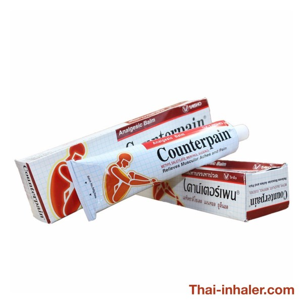 Taisho Counterpain - Thailand Analgesic Balm - 120 Grams - 1 Piece