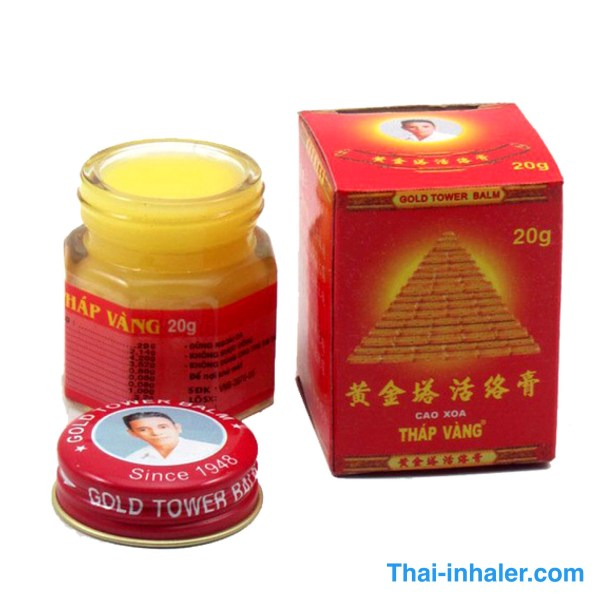 Gold Tower Balm – Vietnam Ointment – 20 Grams – 1 Piece
