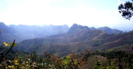 Panorama bei Pang Kham