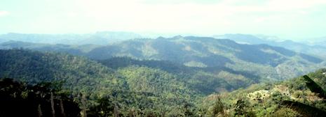 Panoramablick bei Pang Kham