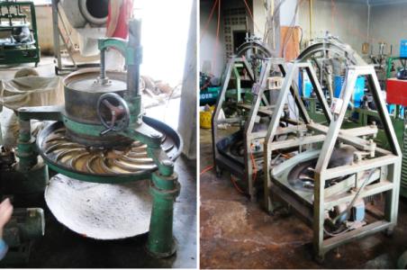 Tee-Zentrifugen in Doi Wawee: Legacy- und modernere Versionen