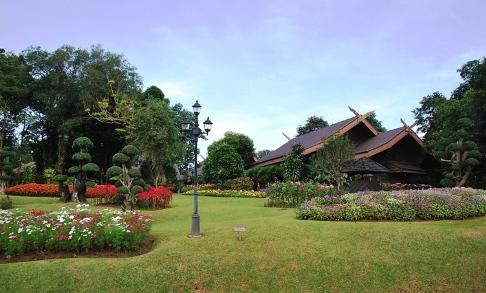Doi Tung, Royal Villa, Palast der königlichen Familie auf dem Doi Tung