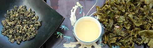 DMS Si Ji Chun Four Seasons Oolong Tee nass / trocken / erster Aufguss