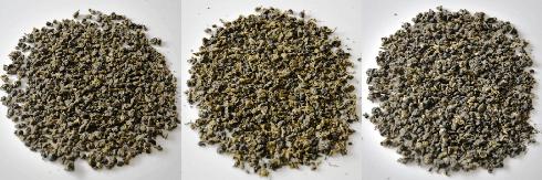 Taiwan Oolong Tees Ruan Zhi Oolong Nr.17, Yin Xuan Oolong Nr. 12, 4-Seasons Si Ji Chun Oolong Tees