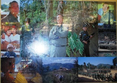 Khun Sa - militärischer Führer und Drogenbaron im Goldenen Dreieck