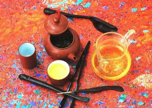 Cha Khao Hom Thai Reis-Tee aus Doi Mae Salong, Nordthailand