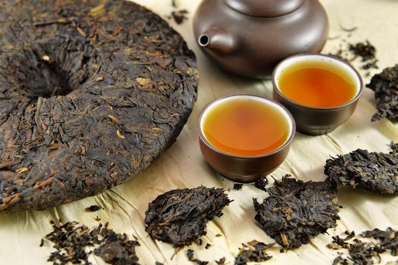 Original Pu Erh Tees im Siam Tee Shop