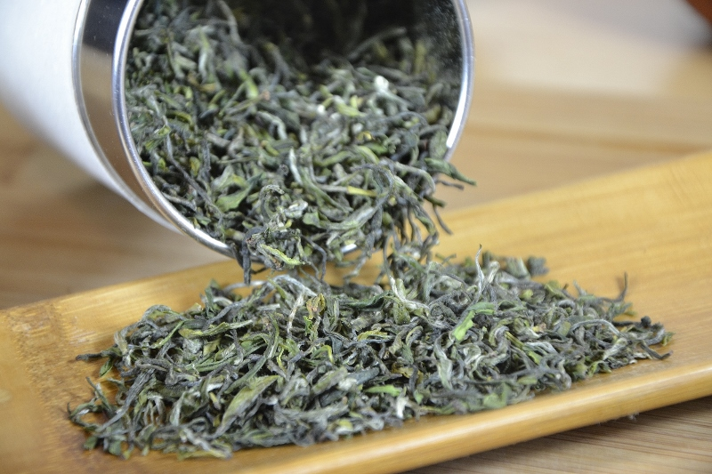 Zhejiang Imperial High Mountain Mao Feng Grüner Tee - sortenrein, gartenrein, ernterein