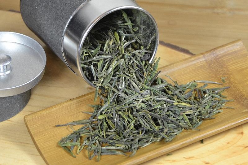 Spring High Mountain Premium Zi Sun Cha Grüner Tee - sorten-, garten- und ernterein