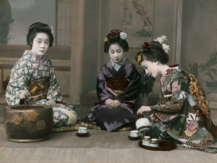 Die japanische Teekultur ist die zweitälteste der Welt