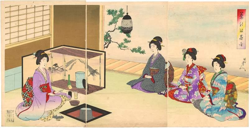 Japanische Teezeremonie - strikte Ablauf- und Verhaltensregeln