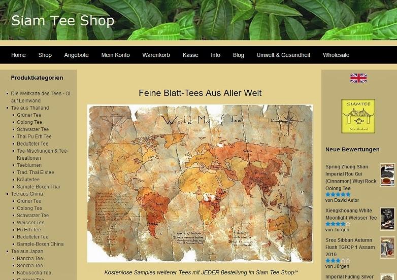 Moderne Kommunikationstechnologie und wirtschaftlische Globalisierung machen Tee aus aller Welt weltweit verfügbar