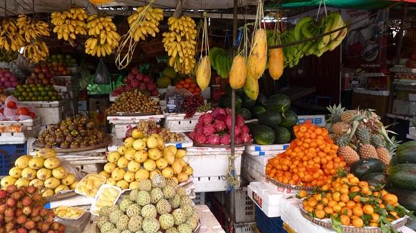 Фрукты в Тайланде в августе   какие   цены   где покупать