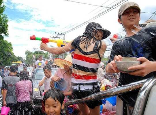 Photo of Songkran, the Thai New Year and its water battles