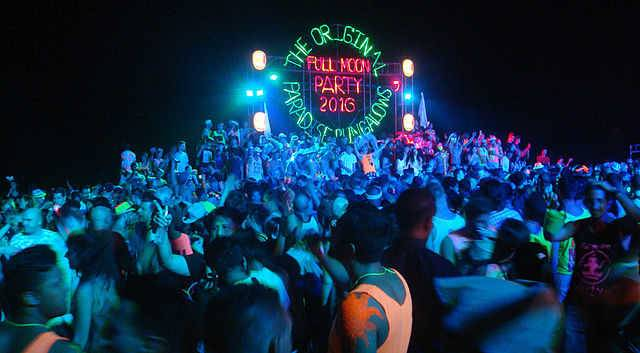 Photo of Full Moon Party in Thailand: description and dates 2019 / 2020 in Koh Phangan