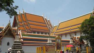 Photo of Wat Pho Tempio del Buddha sdraiato a Bangkok
