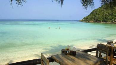 Koh Phangan Island in the Gulf of Thailand