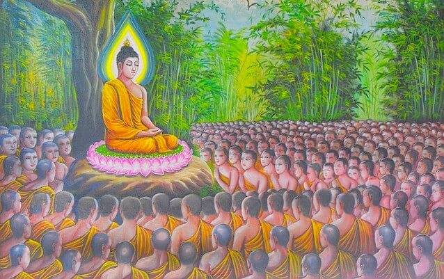 Makha Bucha day 2020, an important Buddhist celebration in Thailand