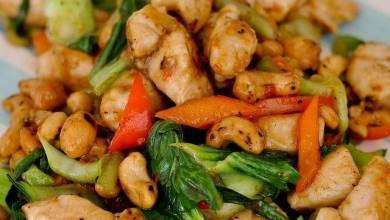 Thai cashew nuts chicken Recipe