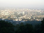 chiang mai photo - view from the doi Suthep temple