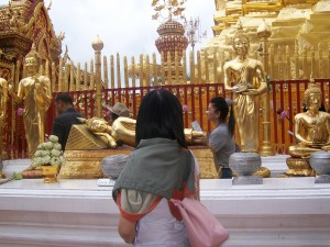 Doi Suthep Temple in Chiang mai