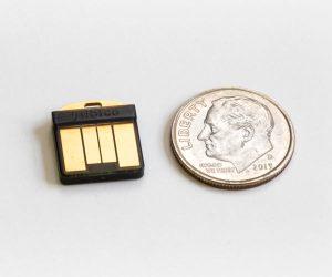 YubiKey 5 nano vs coin dime 2020