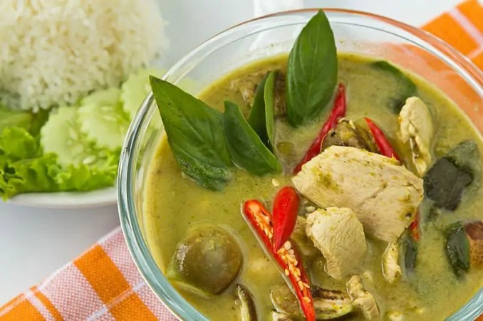 Thai Food, Green Curry