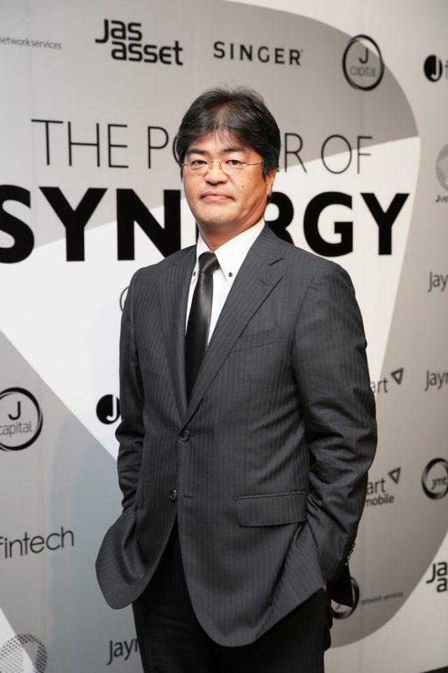 J_Fintech_Mr.Uematsu Takeharu ประธานเจ้าหน้าที่บริหาร บริษัท เจ ฟินเทค จำกัด