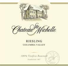 Chateau Ste. Michelle wine Thai Spice Restaurant