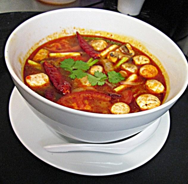 Tom Yam Soup (bowl) Thai Spice Restaurant