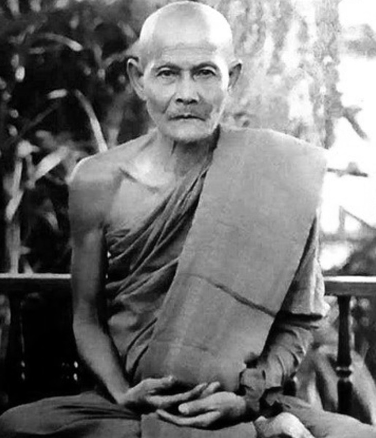 Ajahn Mun - student of Ajahn Sao, teacher of Ajahn Maha Bua (his biographer) and Ajahn Chah (teacher of many Western Buddhists)