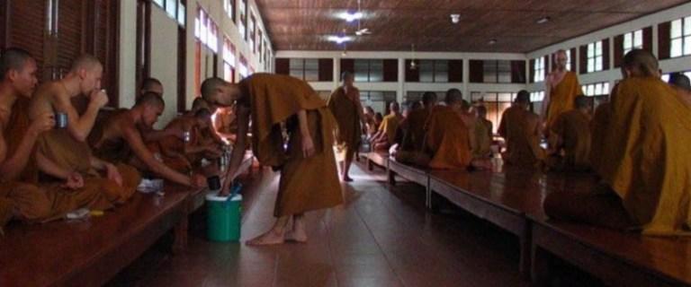Interior of a Buddhist Monastery