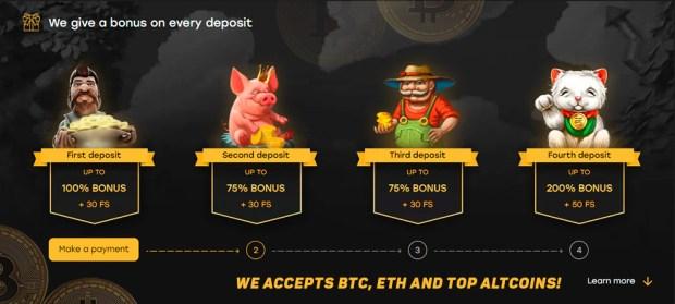 Bitco คาสิโนออนไลน์ bitcoin