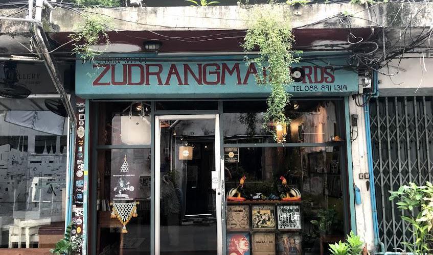 バンコクで希少レコードが買えるレコ屋【ZUDRANGMA RECORDS@BTSトンロー】