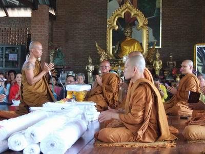 Kata Chanting for Thai Buddhist Amulets