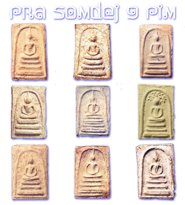 Pra Somdej Bang Khun Prohm Nine Top Pim