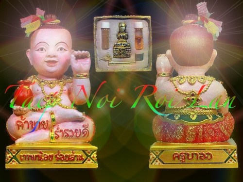 Taep Noi Roi Lan Edition Amulets by Kroo Ba Or