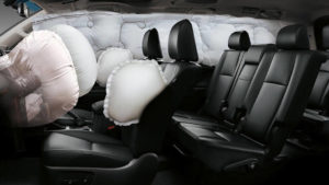 Toyota Land Cruiser Prado Kakadu airbags