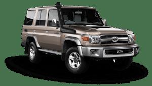 Toyota Land Cruiser LC76 Hardtop Wagon GXL