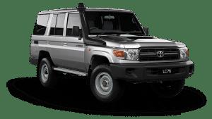 Toyota Land Cruiser LC76 Hardtop Wagon Wokmate