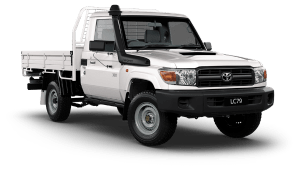 Toyota Land Cruiser LC79 Single Cab Chassis WorkMate