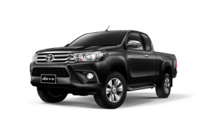 Toyota Hilux Revo Smart Cab available in Black