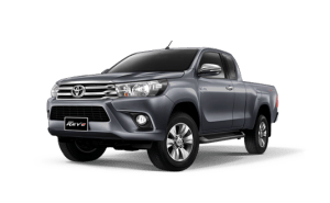 Toyota Hilux Revo Smart Cab available in Dark Grey