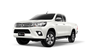 Toyota Hilux Revo Smart Cab available in Pearl White