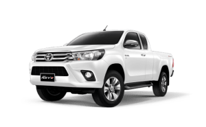 Toyota Hilux Revo Smart Cab available in White