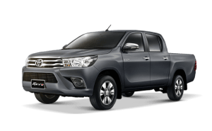 Toyota Hilux Revo Double Cab available in Dark Grey Metallic